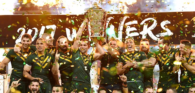 Meninga excited for tonight's World Cup draw