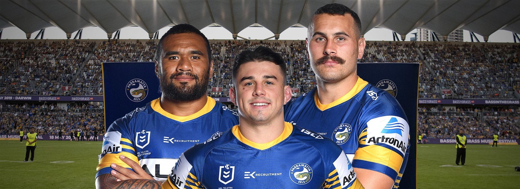 The long and the short of it in Eels front row