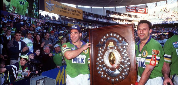 1994 grand final rewind: Big Mal gets the perfect swansong