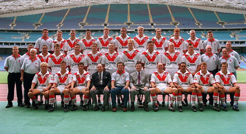 The foundation St George Illawarra squad.