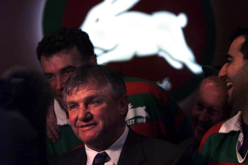 Rabbitohs legend George Piggins.