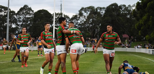 Burgess and Sele fire as Souths down Eels in trial
