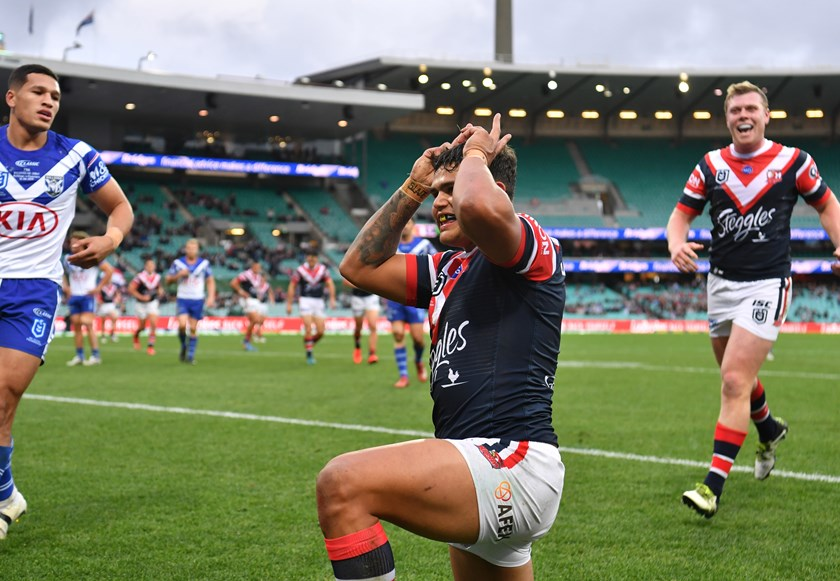 Latrell Mitchell is a proud Indigenous Australian.