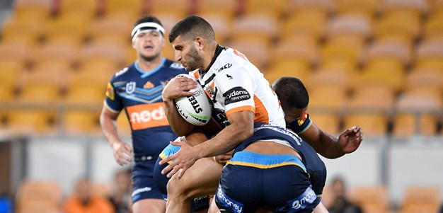 Wests Tigers Stat to Fix: Metres per carry