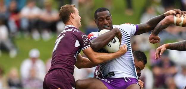 Skilful Storm kick clear of Sea Eagles in slugfest