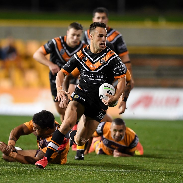 Wests Tigers: 2021 round 1 predicted team