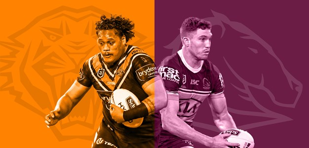 Wests Tigers v Broncos: Trio tested for COVID-19; Farnworth out