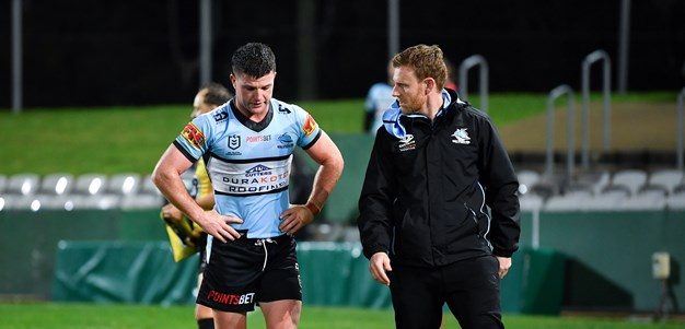 Sharks cop more injuries but dig deep to do Morris proud
