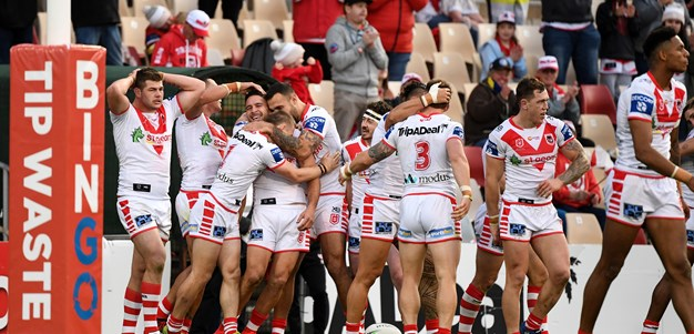 St George Illawarra Dragons 2021 draw snapshot