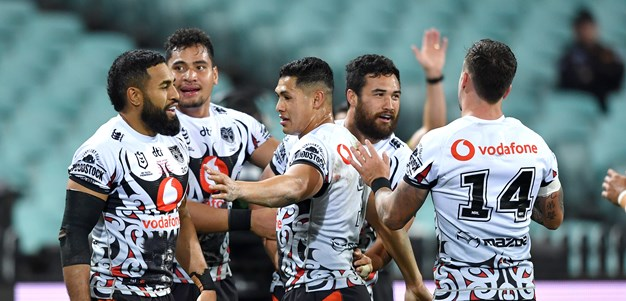New Zealand Warriors 2021 draw snapshot
