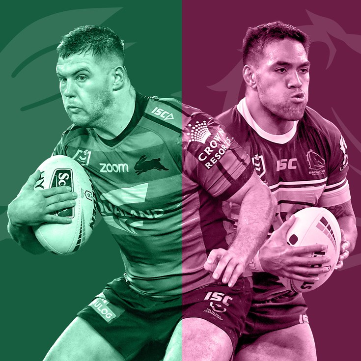 Rabbitohs v Broncos: Knight to start; Lodge on bench
