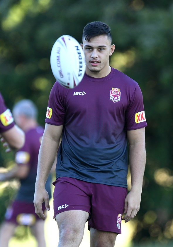 Tino Faasuamaleaui has been part of the Emerging Maroons program.