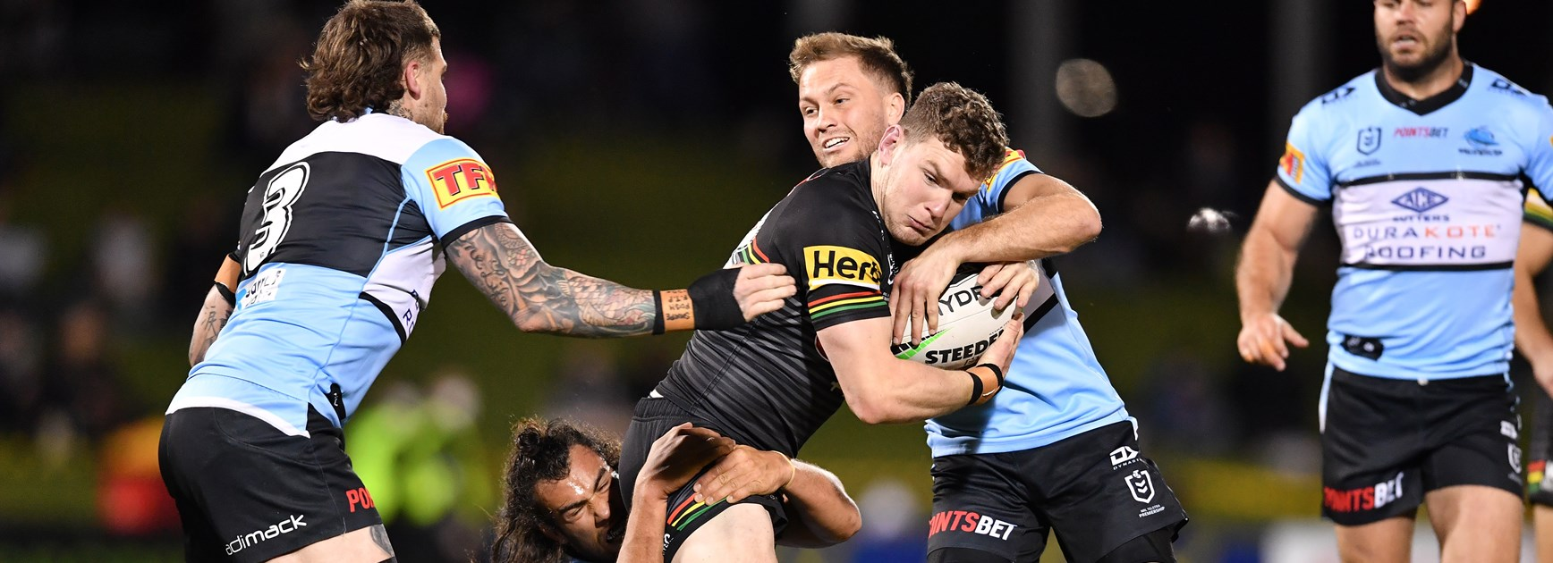 Panthers back-rower Liam Martin.