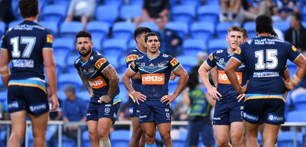 Holbrook rues 'fine line' that sums up Titans
