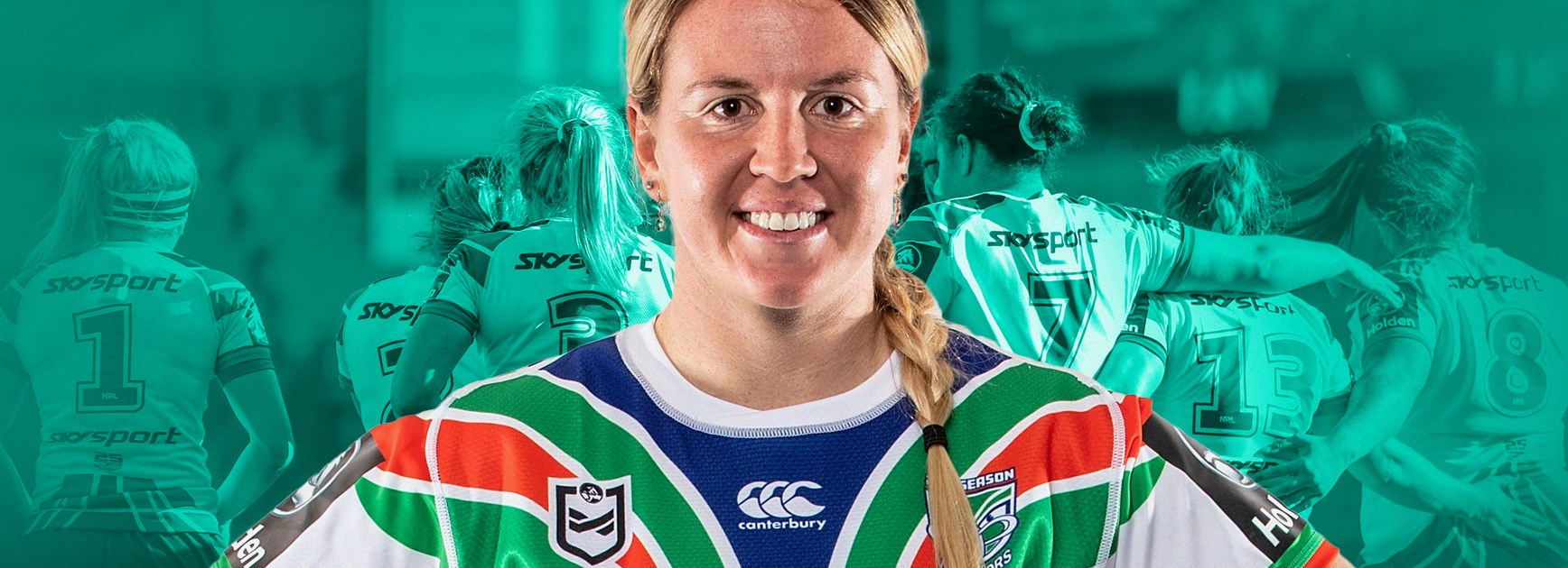 Hale and hearty: Warriors won't back down from NRLW challenge