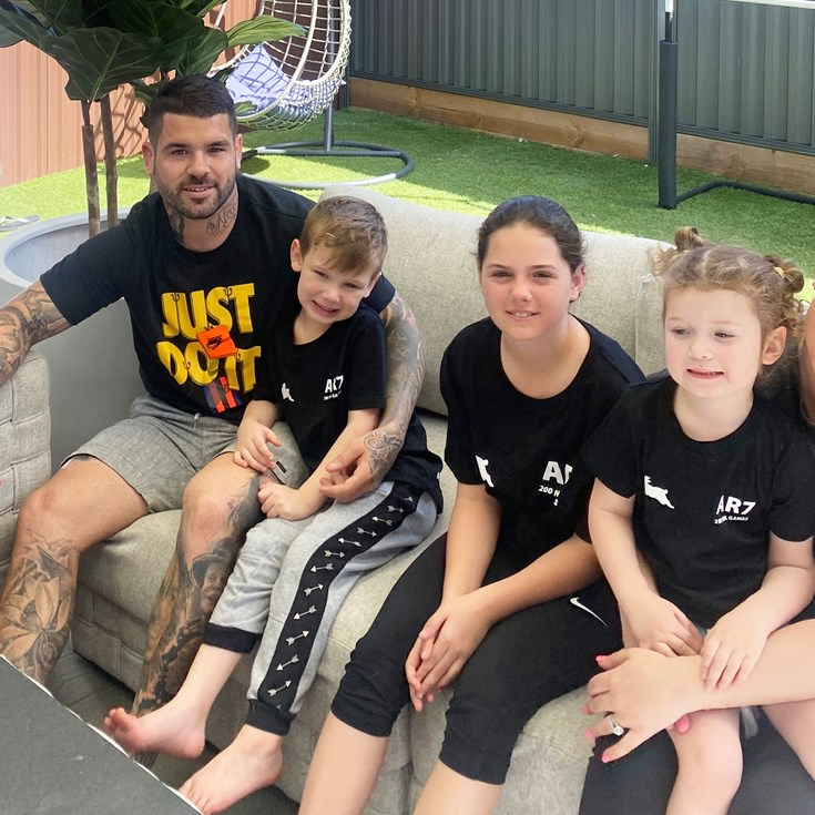 Dad of the Year Reynolds enjoys benefits of life in the bubble