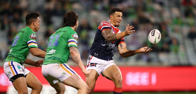 Robinson likes what he sees in SBW's 13-minute cameo