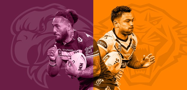 Sea Eagles v Wests Tigers: Manly lose two; Tigers reshuffle backline