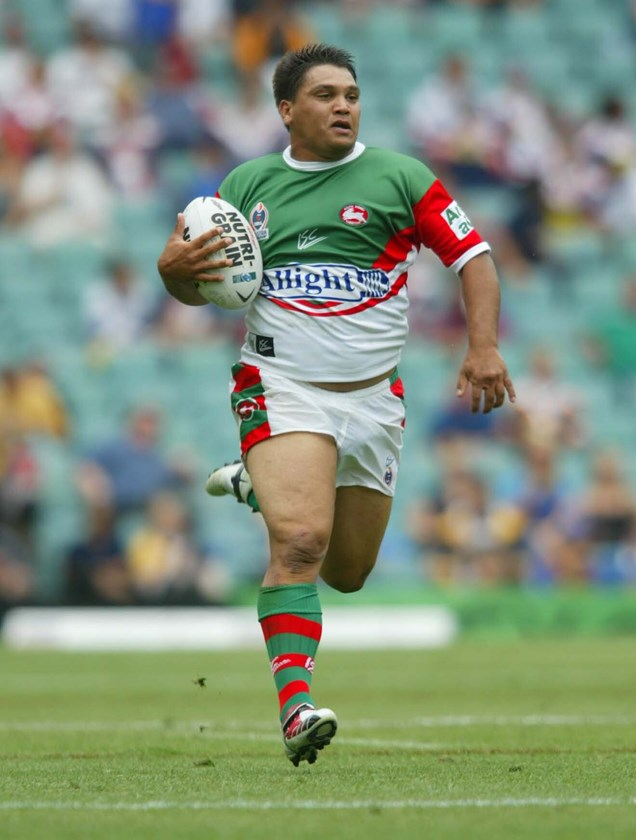 Craigie on the charge for South Sydney.