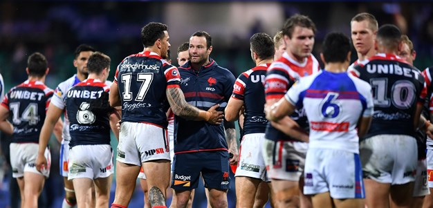 Cordner OK after head knock as emotional week ends in Knights carve up
