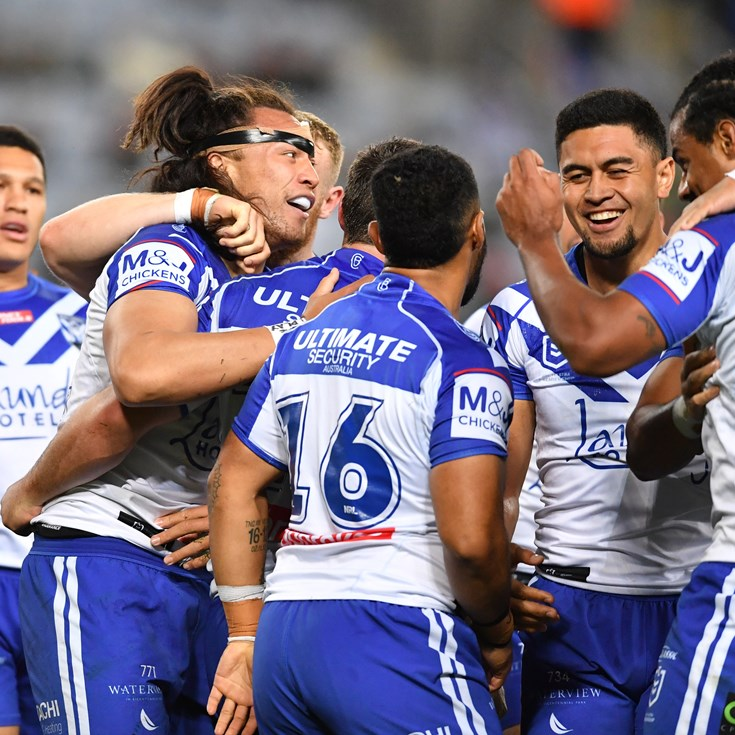 Canterbury Bulldogs 2021 draw snapshot