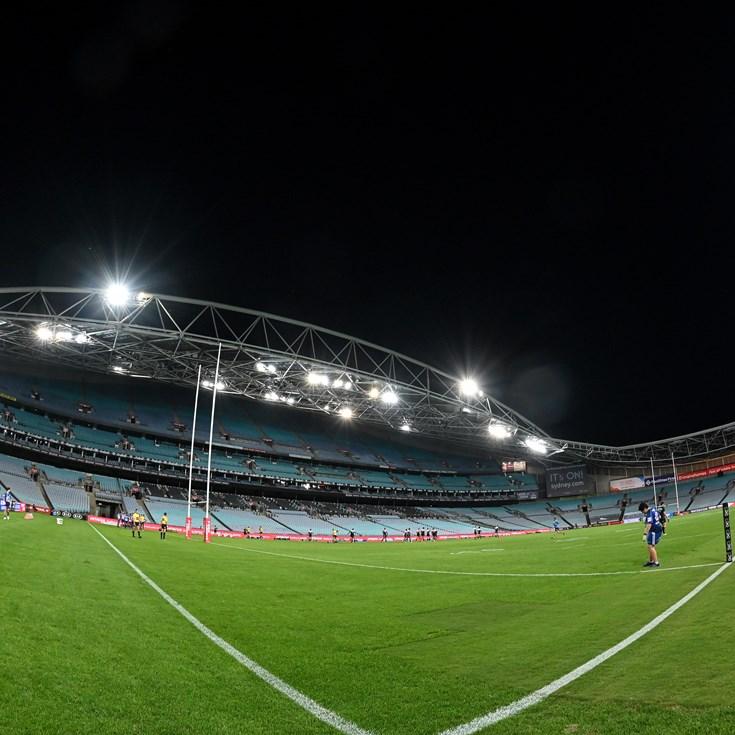 NRL season suspended indefinitely