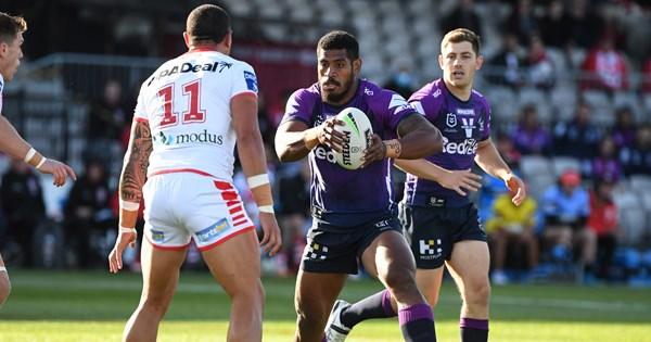 NRL 2020: Dragons v Storm round 20 St George Illawarra upset Melbourne – NRL.COM