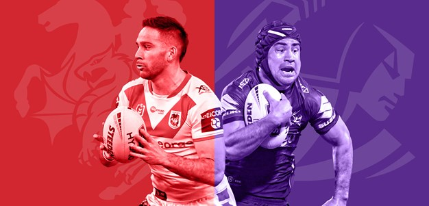 Dragons v Storm: Vaughan out; Storm rest stars