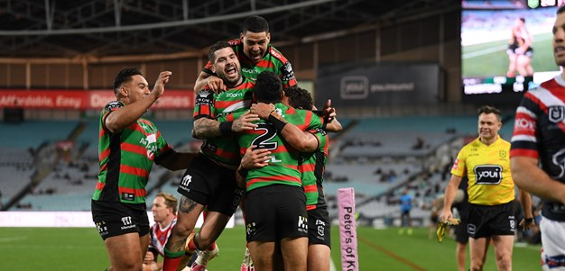 Rivalry on again but no '60-8' talk before Rabbitohs face red-hot Roosters