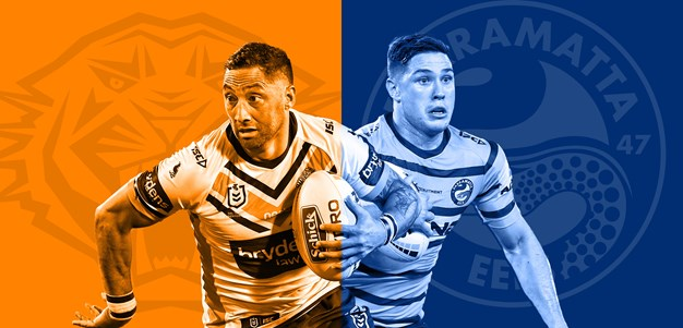Wests Tigers v Eels: Jennings omission leads mass changes