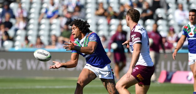 Blair farewelled in style as Warriors bring Sea Eagles down