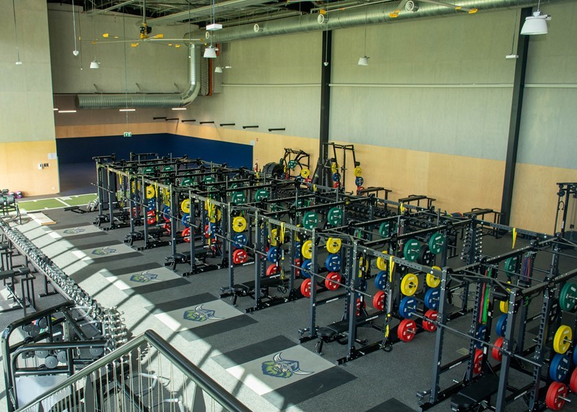 Canberra's new high-performance centre.