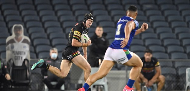 Burton the leading man as Panthers trounce Warriors