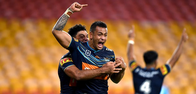 Sami steals win with sizzling try as Titans break drought