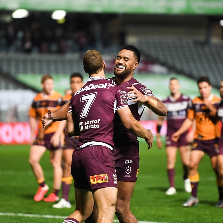 Manly chase down the Broncos