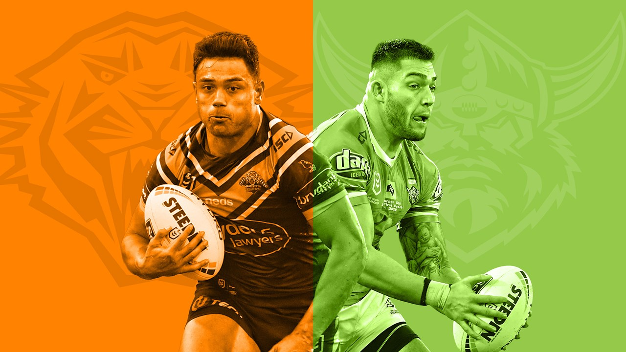 Nrl 2020 Wests Tigers V Canberra Raiders Match Preview Round Five Team Lists And News Nrl