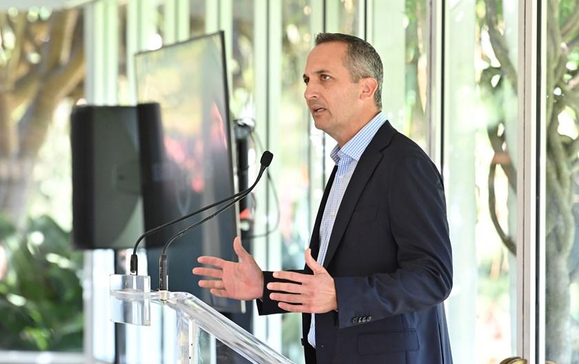 NRL CEO Andrew Abdo.