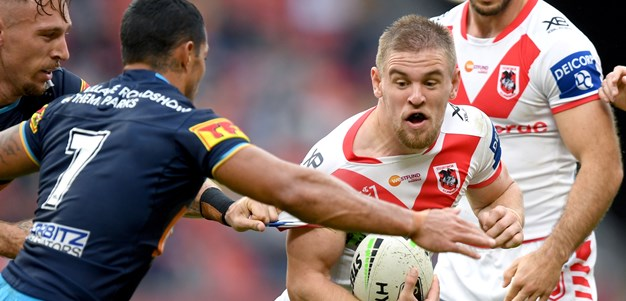 Dufty and Clune fulfillling primary school dream with Dragons