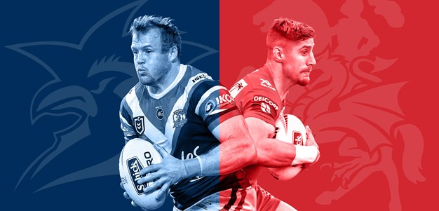 Roosters v Dragons: Verrills to start; Host late withdrawal