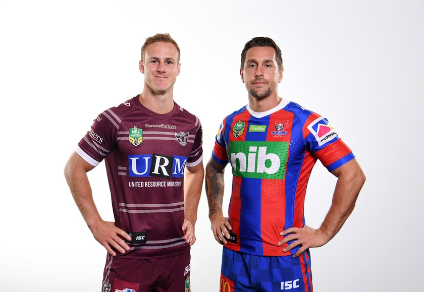 Daly Cherry-Evans and Mitchell Pearce.