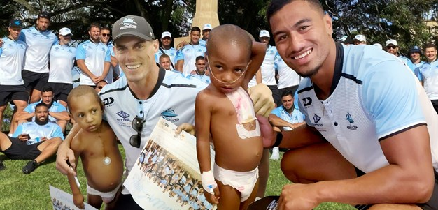 'Take a piece of PNG away with you': Cronulla's Kokoda inspiration