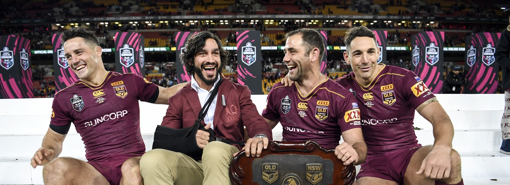 JT's Maroons: Thurston names his ultimate Queensland team