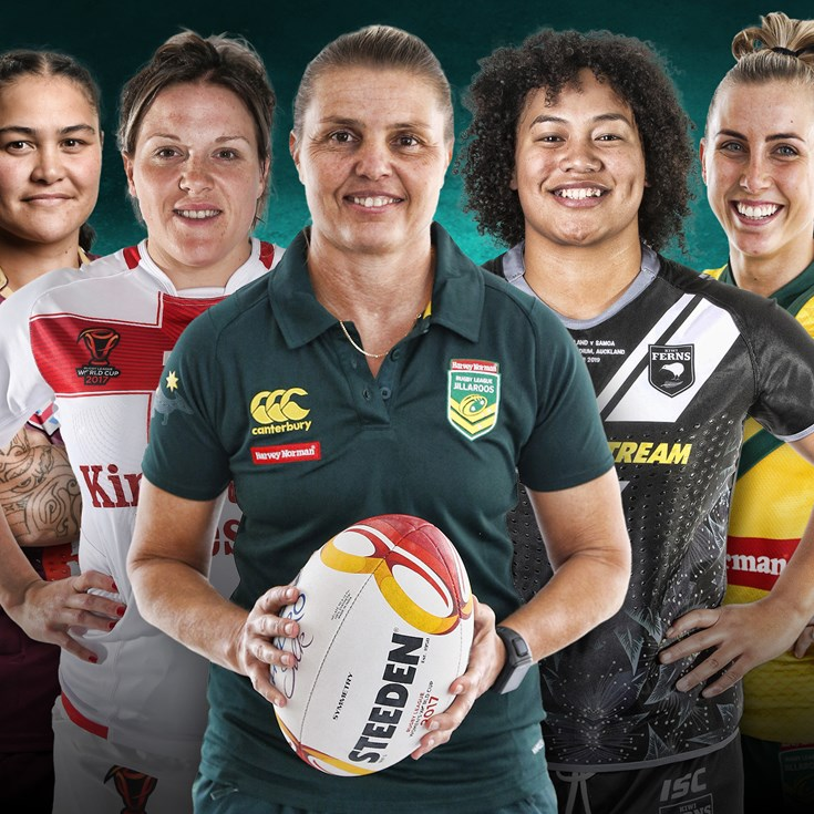 NSW stars in NRL.com's women's Team of the Decade