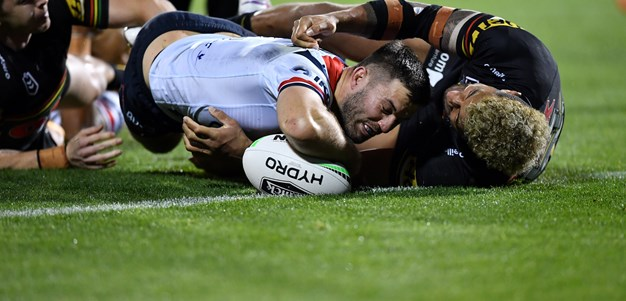 'We just ran out of time': Roosters take confidence from fightback