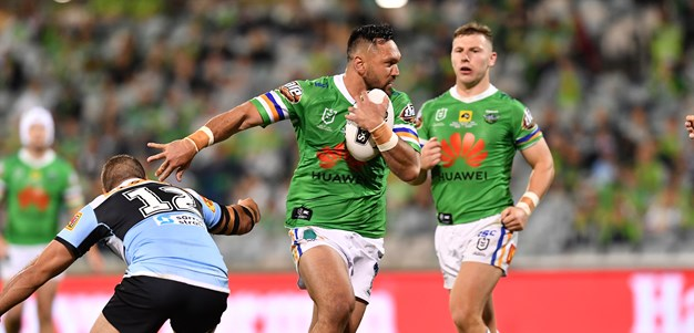 'Unfinished business': Rapana set to sign new Raiders deal