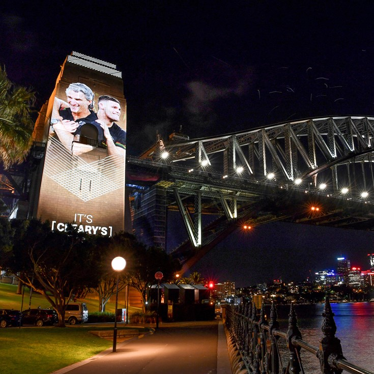 Iconic images of 2020 season light up Sydney Harbour Bridge