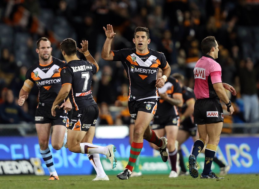 Braith Anasta at the Wests Tigers.