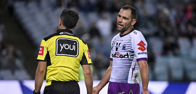 Abdo to 'chat' with Smith over referee comments