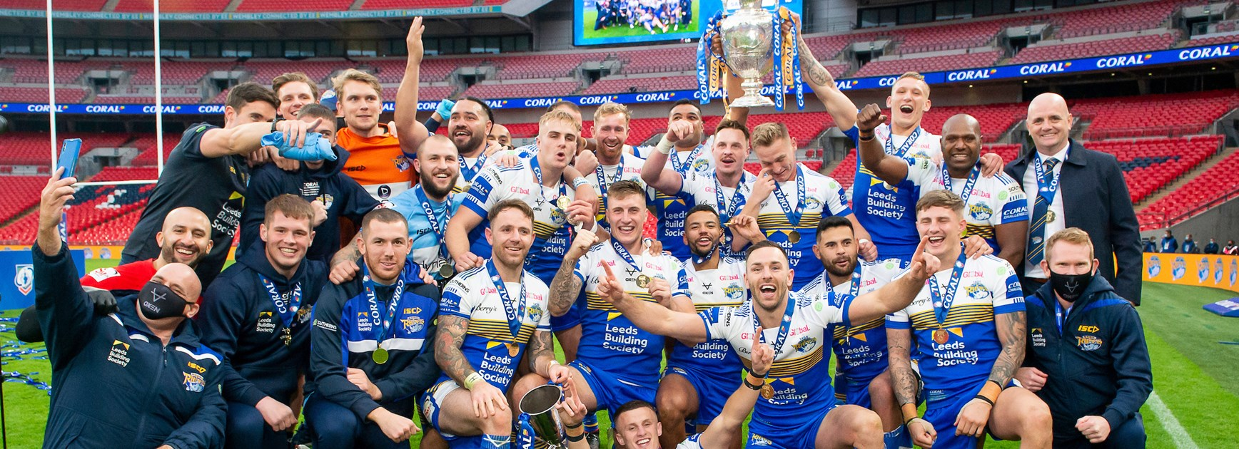 Challenge Cup: Final Richie's voice has Leeds partying all night long