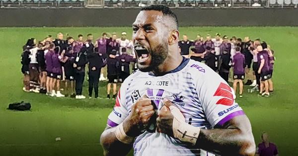 NRL grand final: Melbourne Storm Suliasi Vunivalu Fijian hymn tribute – NRL.COM